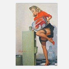 Classic Elvgren 1950s Pin Postcards (Package of 8)