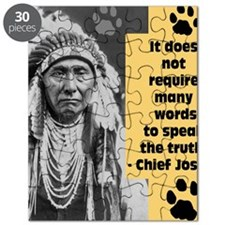 Chief Joseph Quote Puzzle