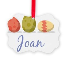 Easter Egg Joan Ornament