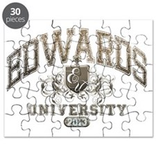 Edwards last name University Class of 2013 Puzzle