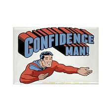 confidence-man2-DKT Rectangle Magnet