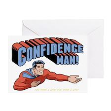 confidence-man2-DKT Greeting Card
