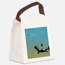 Great White Canvas Lunch Bag