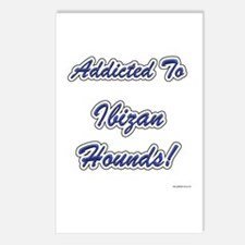 Ibizan Hound Addicted Postcards (Package of 8)