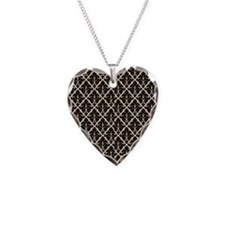 Black Damask Necklace