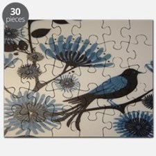 BLUEBIRD FLOWERS Puzzle