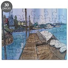 Cripple Cove Throw Puzzle