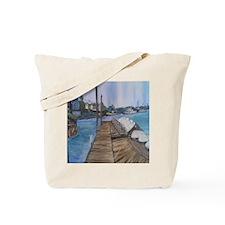 Cripple Cove Throw Tote Bag