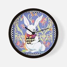 Mr. Funny Bunny Wall Clock