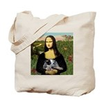 Mona's Aussie Cattle Pup Tote Bag