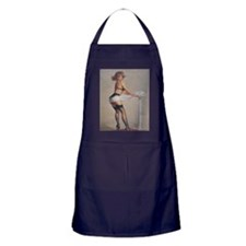 Classic Elvgren 1950s Pin Up Girl Apron (dark)