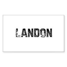 Landon Rectangle Decal