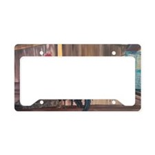 Orchard Ruler License Plate Holder