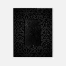 Elegant Black Flourish Picture Frame