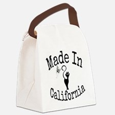 Made In California Canvas Lunch Bag