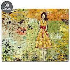 Little Birdie- Inspirational art by Janelle Puzzle