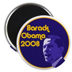 Barack Obama 2008 Fridge Magnet