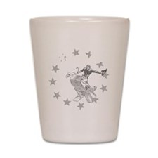 Murica Cowboy and Eagle Shot Glass