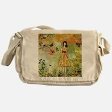 Little Birdie- Inspirational art by  Messenger Bag