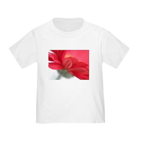 Red Gerber Daisy Toddler T-Shirt