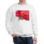 Red Gerber Daisy Sweatshirt