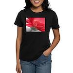 Red Gerber Daisy Women's Dark T-Shirt