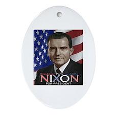 NIXON Oval Ornament