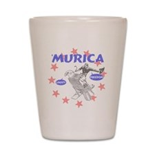 Murica Liberty and Freedom Shot Glass