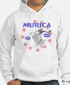 Murica Liberty and Freedom Hoodie