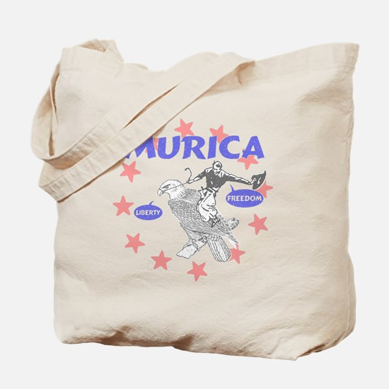 Murica Liberty and Freedom Tote Bag