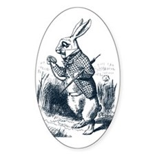 Late Rabbit Decal