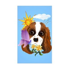Puppy and Nature Decal