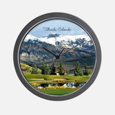 Beautiful Telluride, Colorado Wall Clock
