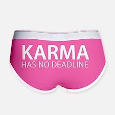 Karma has no deadline, Women's Boy Brief