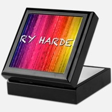Try Harder 12X9 Keepsake Box