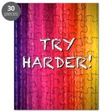 Try Harder 4X6 Puzzle