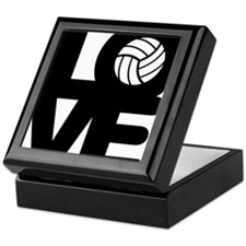 Love Volleyball Keepsake Box