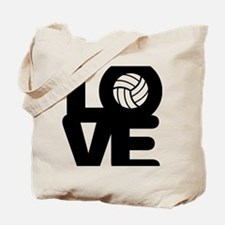 Love Volleyball Tote Bag