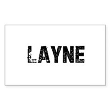 Layne Rectangle Decal