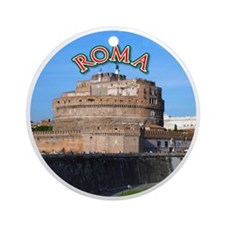 Castel Sant Angelo Round Ornament