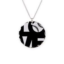 Love Baseball Necklace