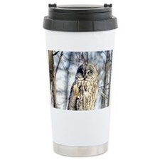 Gray Owl 35x21 Wall Pee Travel Mug