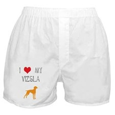 I Heart My Vizsla Boxer Shorts