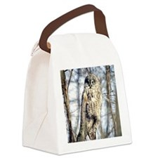 Great Gray Owl Canvas Lunch Bag