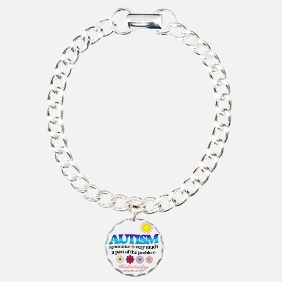 autism ignorance designe Bracelet