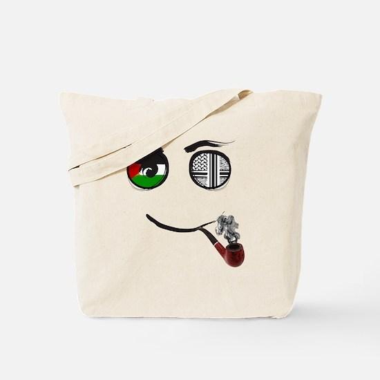 Palestinian smoking Pipe Tote Bag
