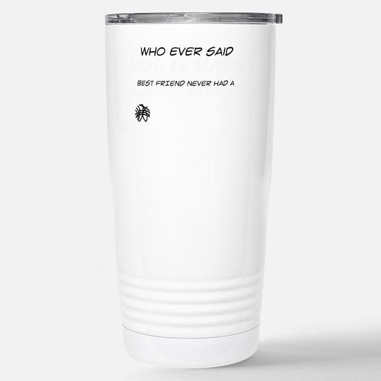 Norwegian Forest Cat De Travel Mug