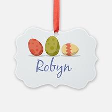 Easter Egg Robyn Ornament