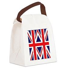 Union Jack British Flag Canvas Lunch Bag