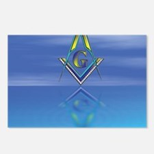Masonic Seascape Postcards (Package of 8)